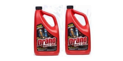 Drano Ultra Max Gel Clog Remover 80oz 2Pk by SC Johnson