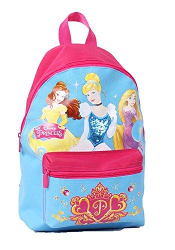 Seven Disney Princess 2B9001606-512 Zaino per Scuola, Small, 9 litri, Poliestere, Blu