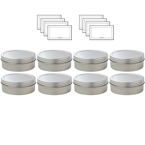 Metal Container Sealed Screwtop Labels