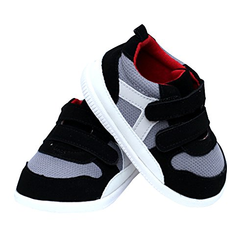 Image of Kuner Baby Boys and Girls Cotton Rubber Sloe Outdoor Sneaker First Walkers Shoes