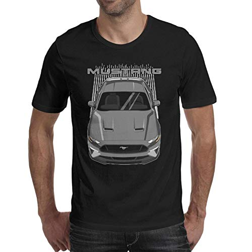 SMHNG F-ord-Racing- Printed Men's Mens T Shirt Trendy Crew Neck 100% Cotton Tee -