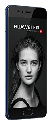 Huawei P10 VTR-L29 64GB Single-SIM (GSM Only, No CDMA) Factory Unlocked 4G (Dazzling Blue) - International Version