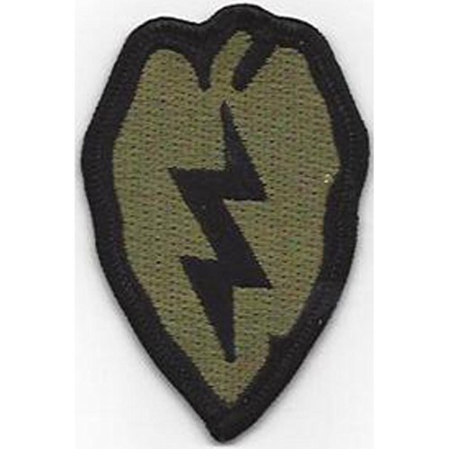 25th Infantry Division Patch OD