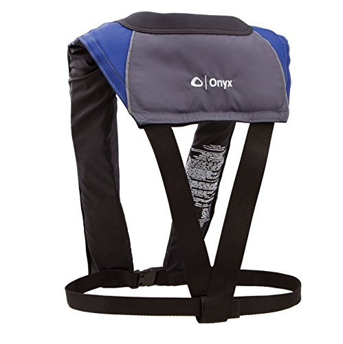 (Onyx M-24 In-Sight Manual Inflatable Life Jacket, Blue)