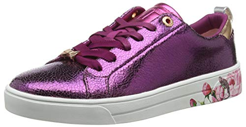 Purple Baker Luoci Violet purple Crackle Crack Ted Baskets Femme Fx6q0xP