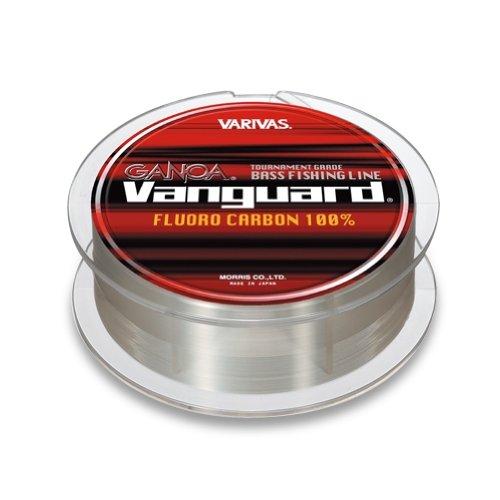 Varivas. Ganoa Vanguard 6lb-150m Fluoro Carbon, Crystal Clear.