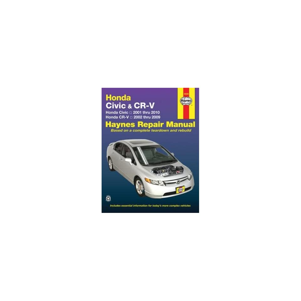 2006 2007 2008 2009 Honda Civic Shop Service Repair Manual Engine Drivetrain OEM