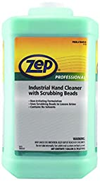 Zep Professional 1045066 Industrial Hand Cleaner with Scrubbing Beads, Lemon, 1 gal Capacity Bottle