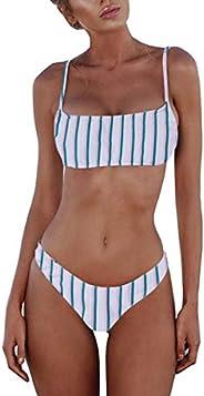 MiYang Padded Push up Brazilian Thong Bikini Sets Two Piece Swimsuit for Women