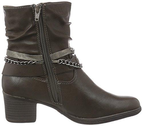 beige marrón 620430 mujeres de para 430 Dockers combate de botas 35cp308 color pqzvx06