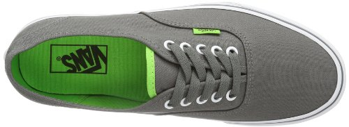 Vans U AUTHENTIC  (POP) CHARCOAL - Zapatillas de lona unisex gris - Grau ((Pop) charcoal)