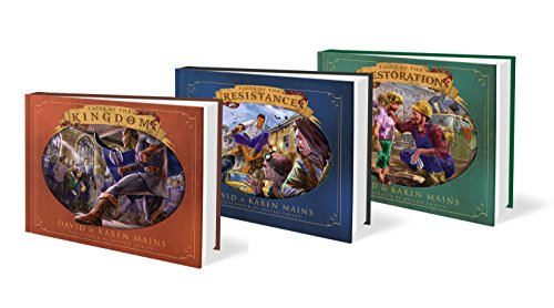 Kingdom Tales Trilogy - 30th Anniversary Edition - (Tales of the Kingdom, Tales of the Resistance, Tales of the Restoration) SET of 3