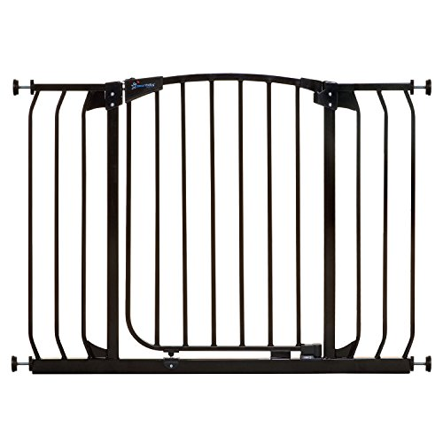 Dreambaby Chelsea Extra Wide Auto Close Security Gate in Black by Dreambaby
