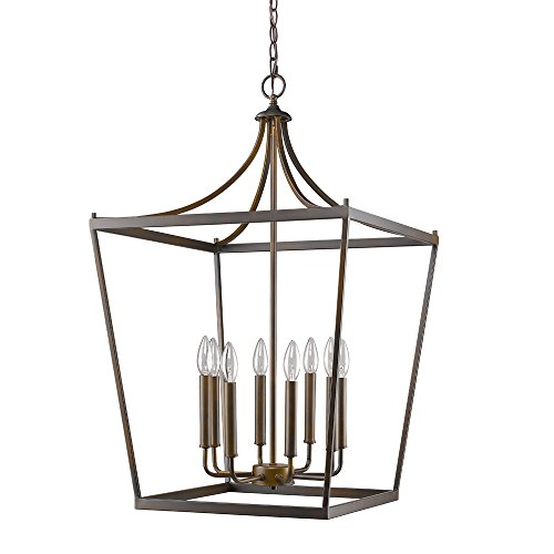 (Acclaim Lighting IN11135ORB Kennedy Indoor 8-Light Pendant, Oil Rubbed Bronze)