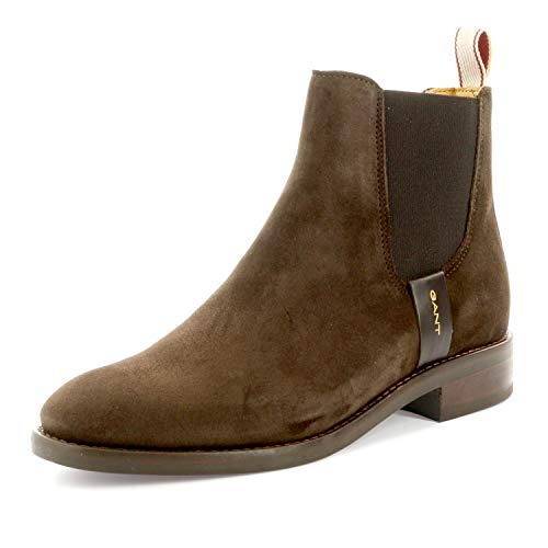 Brown Glove scuro Chelsea G46 Fay Boots marrone 7Swqqtd