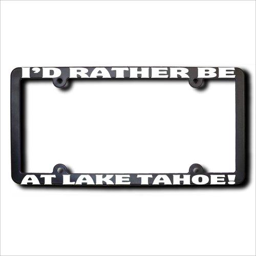 lake tahoe license plate frame - 6
