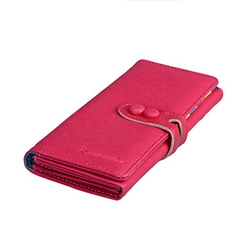 Wallet Small Fresh Wallet Mobile Phone Bag Pink - 1