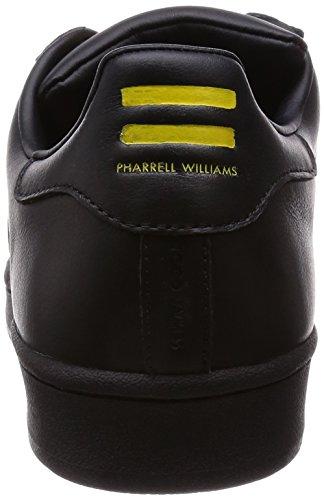 Supersi Pharrell Baskets doré Originals Superstar Noir Adidas nIqIvO