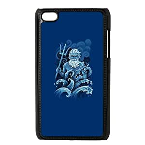 iPod Touch 4 Case Black Poseidon Hwtyc