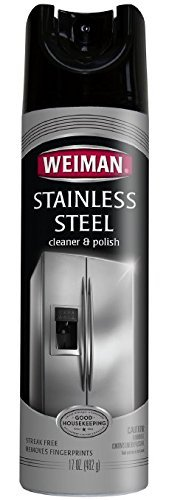 Weiman Stainless Steel Cleaner & Polish Aerosol, 102 oz. by Weiman