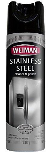 Weiman Stainless Steel Cleaner & Polish Aerosol, 102 oz.