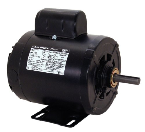 A.O. Smith CP1102L 1 HP, 3450 RPM, 115/230 Volts, 1 Service Factor, Reversible Rotation, 5/8-Inch by 1-7/8-Inch Keyed Shaft Compressor Motor
