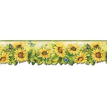 Sunflowers Wallpaper Border BG71361DC