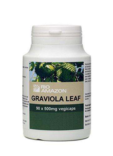 Rio Amazon Graviola Leaf Powder 500mg 90 Vegicaps Discount