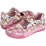 Lelli Kelly Fior Di Pesco Baby Dol fashion sneaker,White Fantasy,20 EU (US Toddler 5 M)