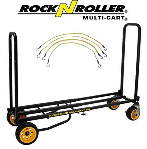 Cart Field Equipment - RocknRoller Multi-Cart R16RT Ground Glider Max Equipment Cart W/ Flex Straps