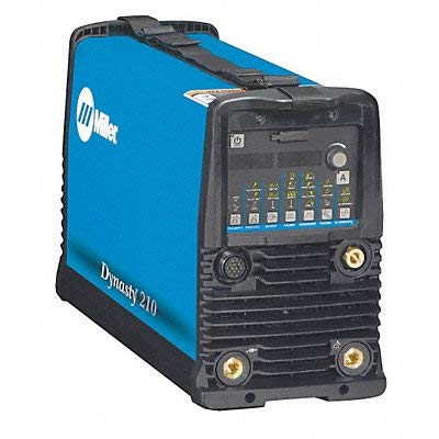 Miller Electric, 907686, TIG Welder, 47 lb, 1 to 210A
