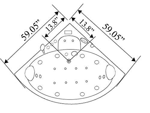 hot tub concrete diagram
