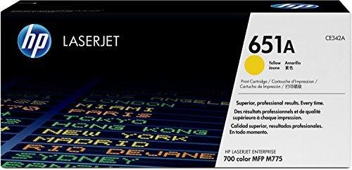 HP 651A (CE342A) Yellow Original Toner Cartridge [並行輸入品] B07FWB13CT