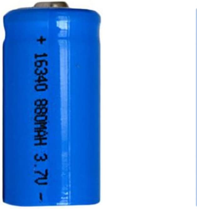 LC16340 Rechargeable Battery 880Mah 3.7V Battery for Bright Flashlight,12pcs