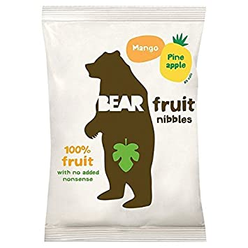 Amazon com : Bear Fruit Nibbles - Mango Pineapple - 30g