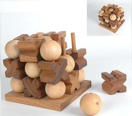 Amazon.com: Monkey Pod Games Tic-Tac-Toe 3D: Toys & Games