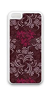TUTU158600 Print Hard Shell iphone 5c case for teen girls cute - Retro pattern in Europe and America