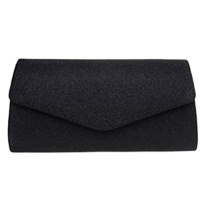 Evening Clutch, FASHIONROAD Womens Bling Envelope Clutch Purse For Wedding And Party