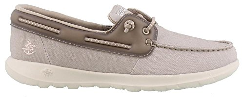 Skechers Women's Performance, Go Walk Lite Sirena Boat Shoes Taupe 8.5 M