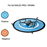 Dacawin 55CM Parking Fast-fold Landing Pad Apron for DJI MAVIC PRO SPARK Drone (Blue And Yellow)