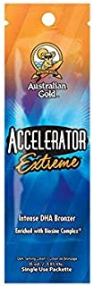 product image for Lot of 5 Australian Gold Accelerator Extreme Tanning Lotion Bronzer Packets