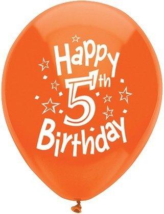 Amazon 5th Birthday Balloons