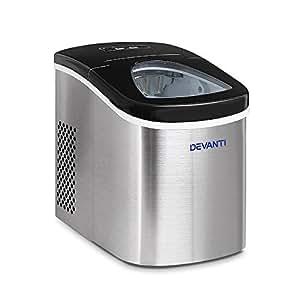 DEVANTI 2.4L Ice Maker with LED Display