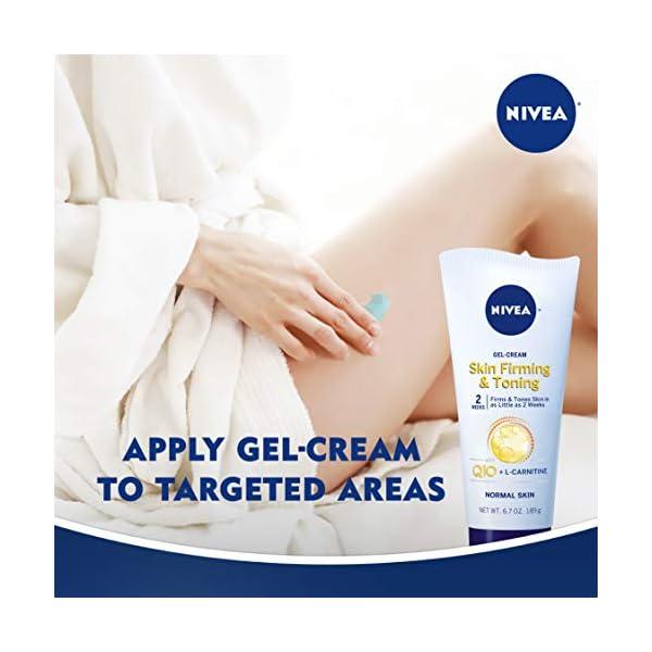 NIVEA Skin Firming Variety 2 Pack - Includes Skin Firming Lotion (16.9 fl. oz.) & Skin Firming Gel-Cream (6.7 oz.)