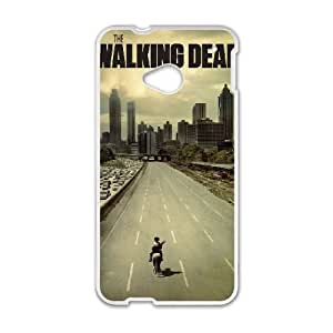 HTC One M7 Phone Case White The Walking Dead PLU6218343