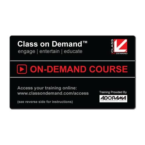 Class On Demand Black Card - Choose any one title from an extensive online video catalog (Retail Value up to $399 depending on title selected) by Class on Demand