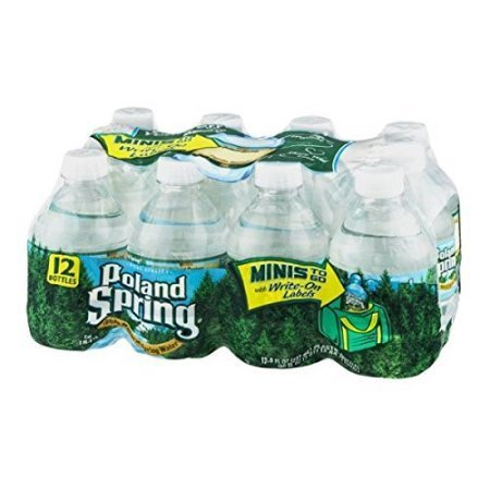 Poland Spring Water 8 Oz - 48 Pack