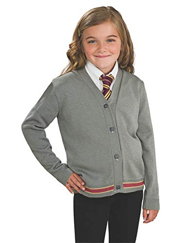 Harry Potter Hermione Granger Hogwarts Cardigan and Tie Costume - -