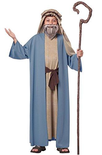 [Mememall Fashion Biblical Herdsman Noah Holy Bible Religious Boys Child Costume] (Han Solo Costume Girl)