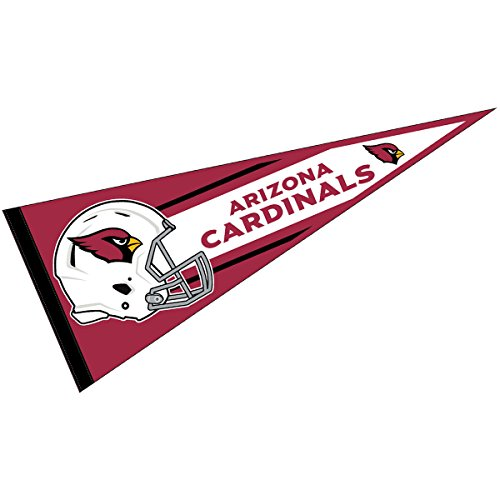 dinals Official NFL 30 inch Large Pennant (Arizona Cardinals Banner Flag)